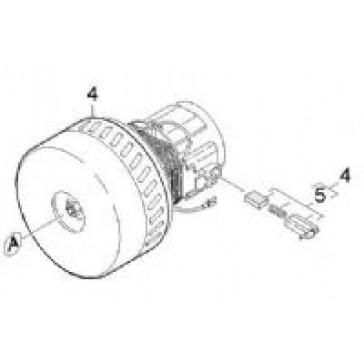 Puzzi 100 Vacuum Motor