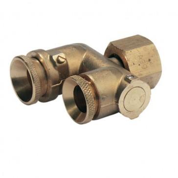 Rollover nozzle holder