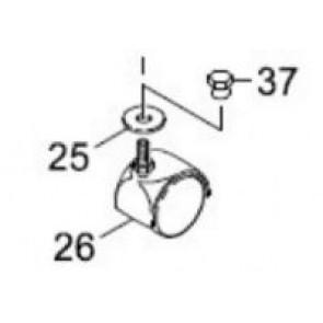 Puzzi Caster Wheel
