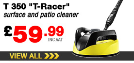 T 350 T-Racer surface and patio cleaner