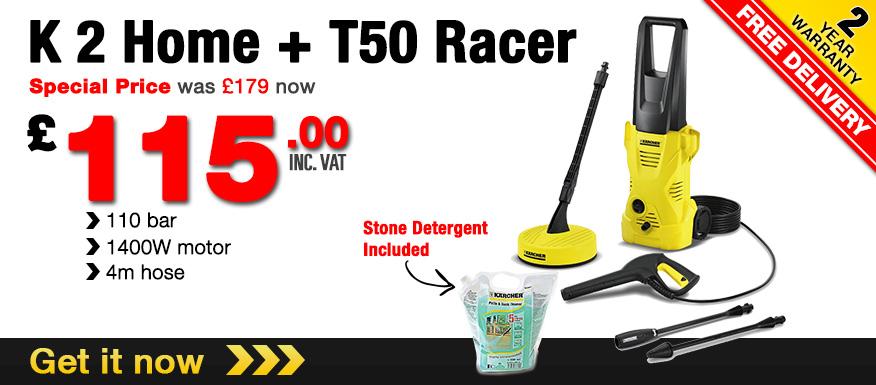 K 2 Home + T50 Racer